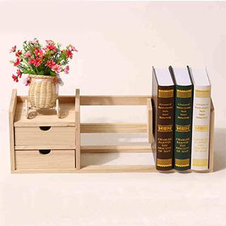 【至尊版】实木简约书架-需自己手动安装
