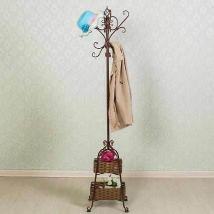 【88折兑换】欧式金属艺术组装衣帽架【高1.7+2篮