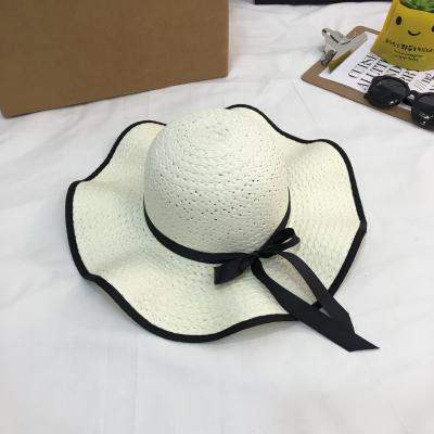 夏季波浪边沙滩帽