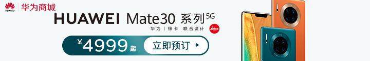 HUAWEI Mate 30系列5G开售了